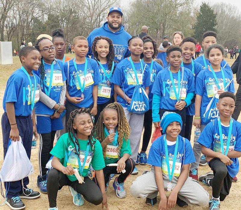 Students from McLaurin Elementary School Compete in BlueCross BlueShield's Annual Get Ready to Run Fun Run Thumbnail Image