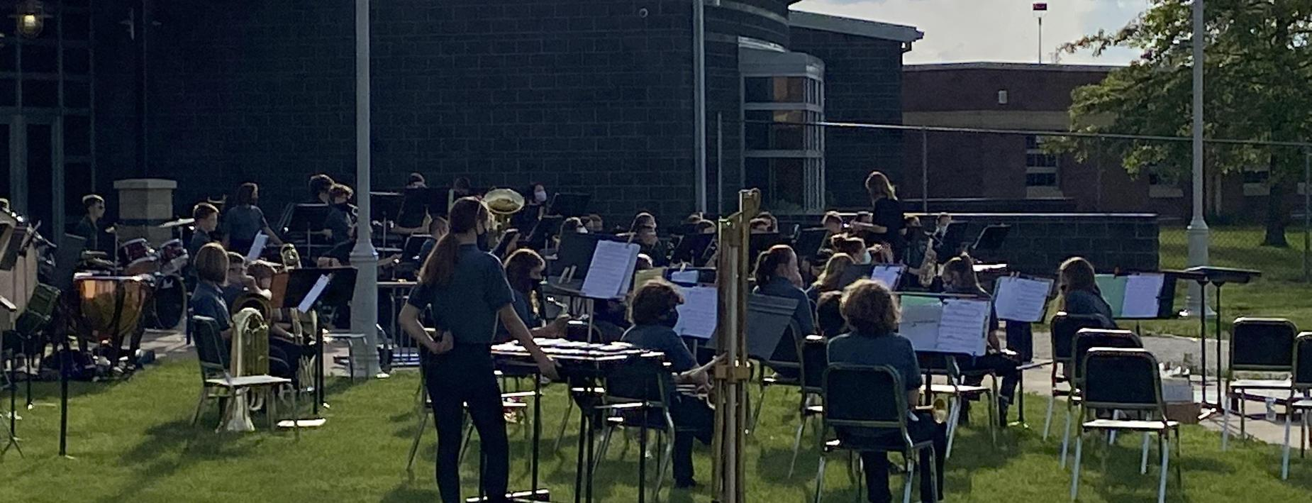 CCMS band concert