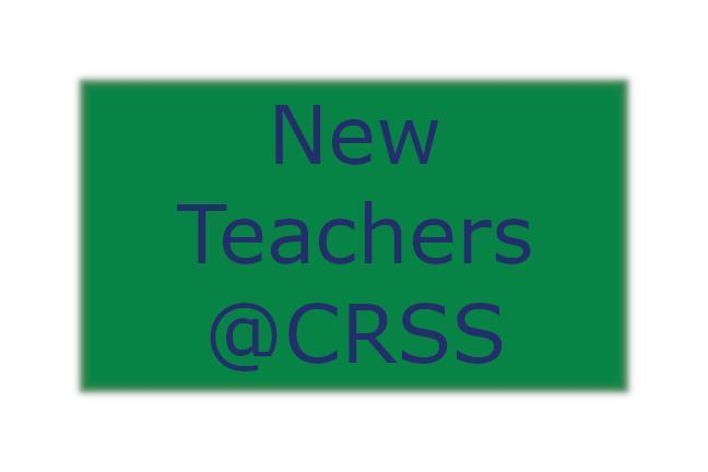 New Teacher's @CRSS Graphic