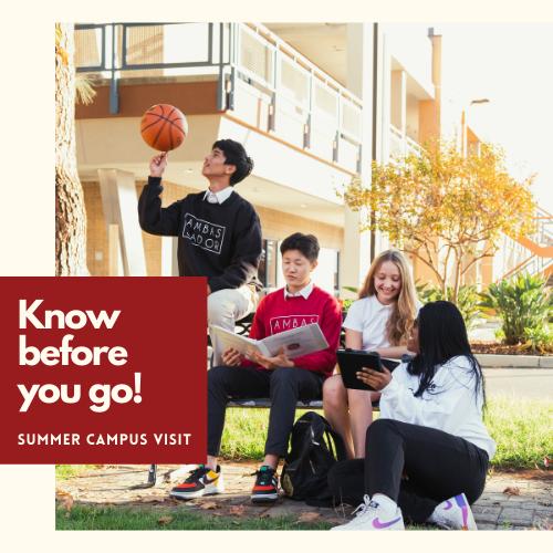 Summer Campus Visit Featured Photo