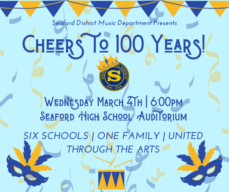 Cheers to 100 Years - Music in Our Schools Community Concert on March 4th Featured Photo