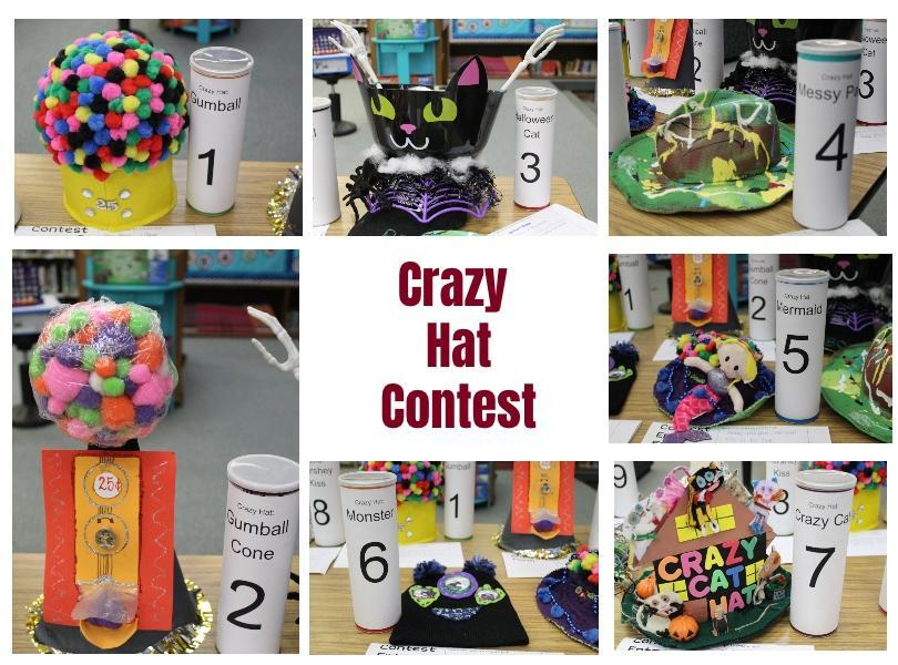 Image of our crazy hats
