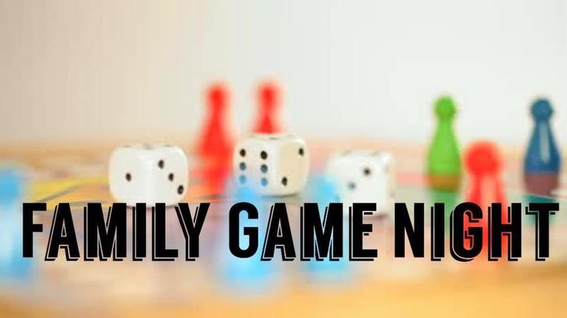 Click HERE to RSVP to Family Game Night on Friday, November 15 at 6pm! Thumbnail Image