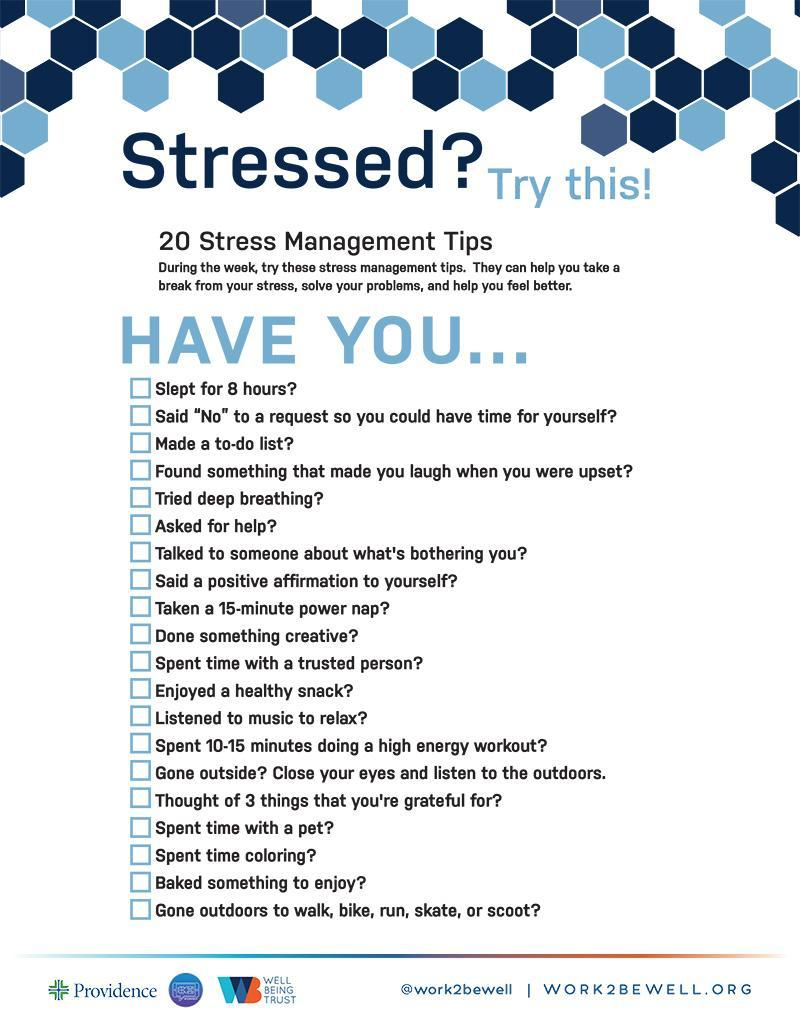 Student Stress Tips