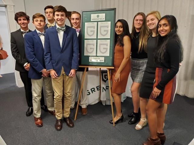 Nine Upper School students inducted into first Leadership Development Program at Greenfield Featured Photo