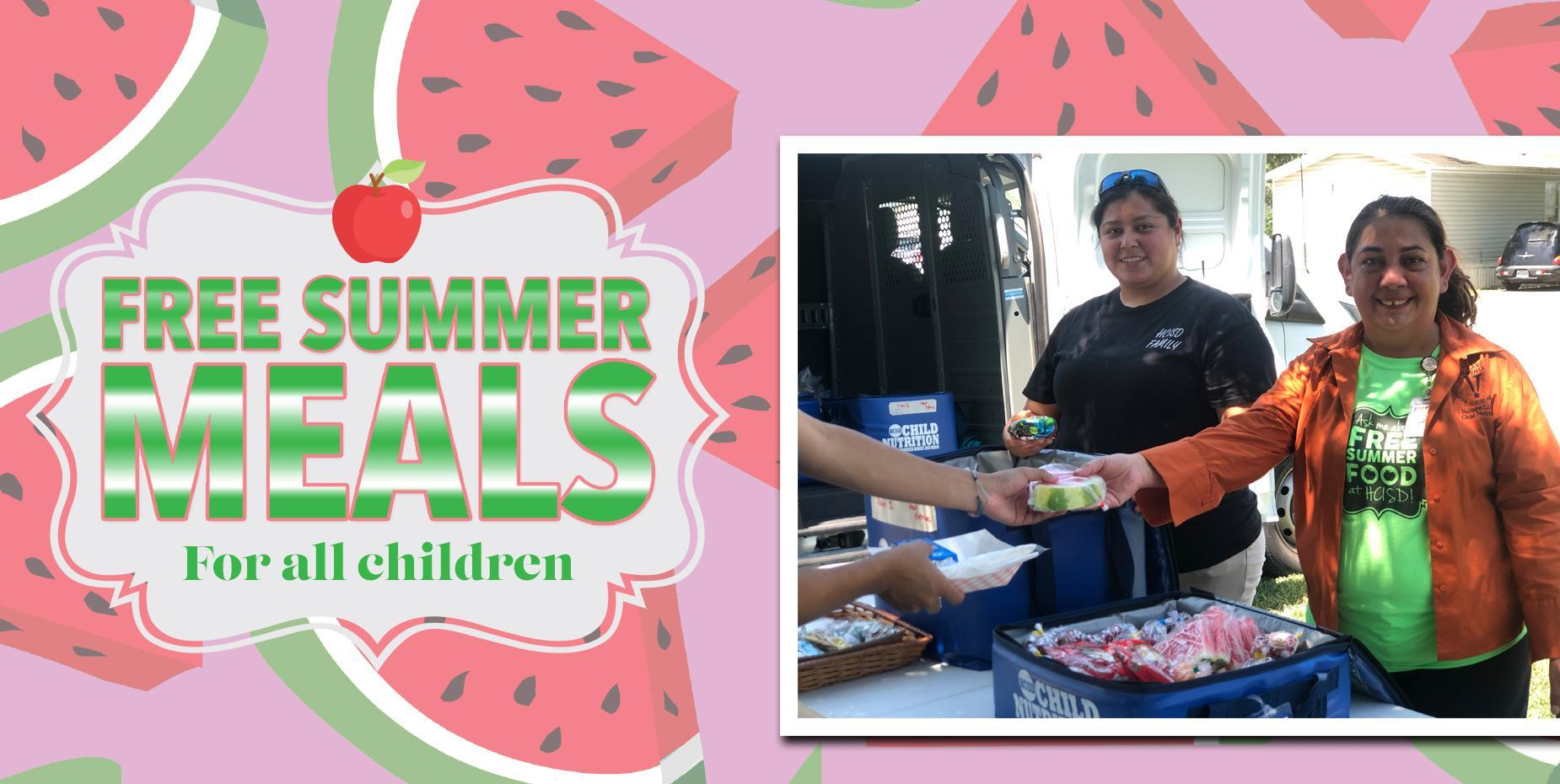 Free Summer Meals for all Children