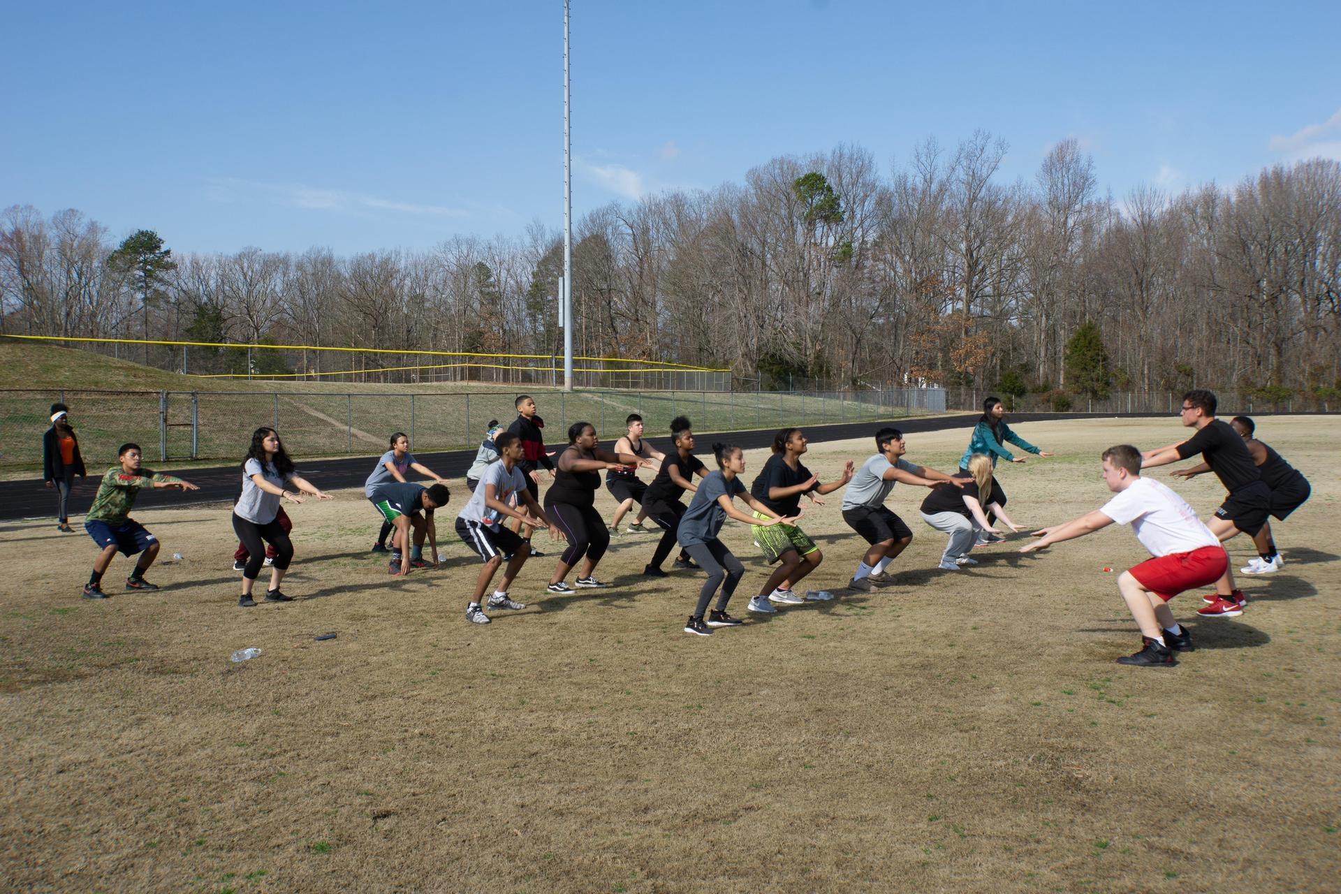 Bulldog JROTC Physical Training Dozen