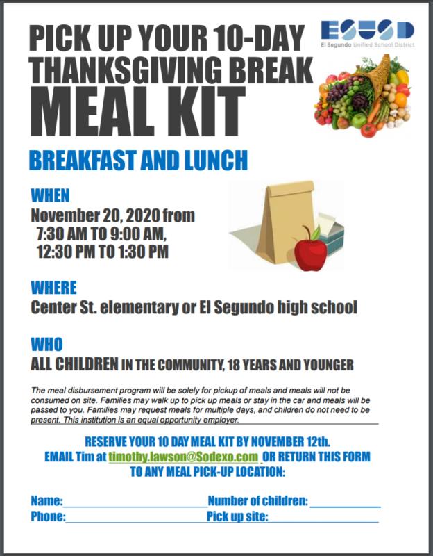 Thanksgiving Break Meal Kit Featured Photo