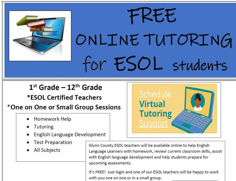 Free Online Tutoring for ESOL Students Featured Photo