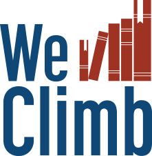 We Climb Logo