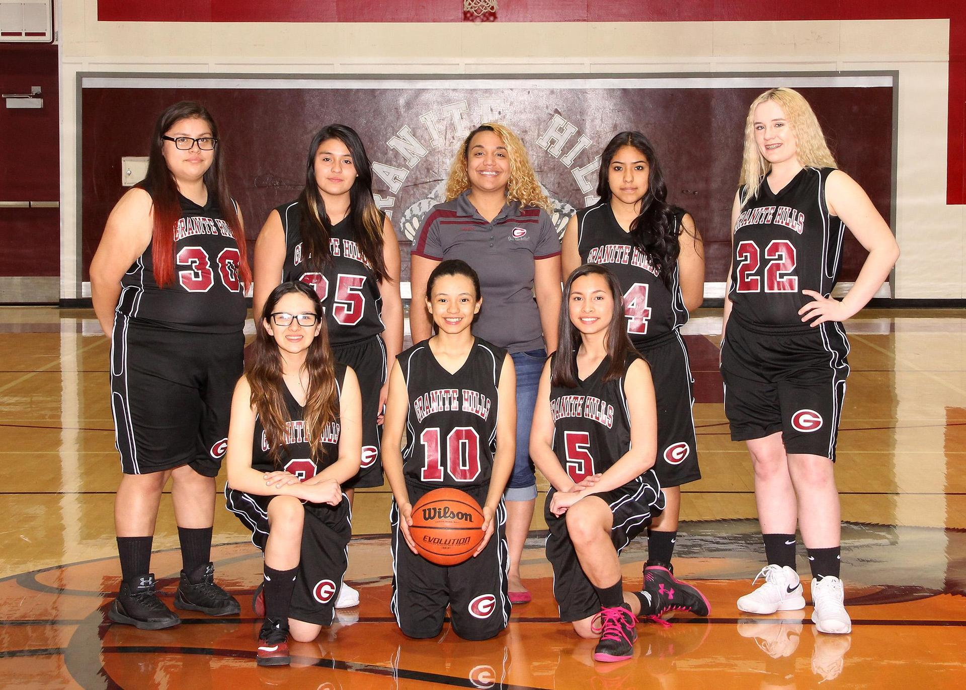 Freshmen Lady Grizzly Basketball