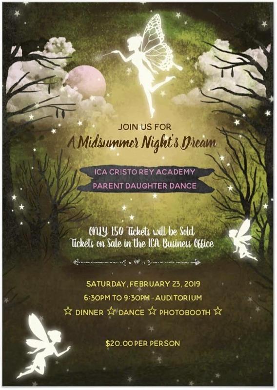 flyer advertising the dance