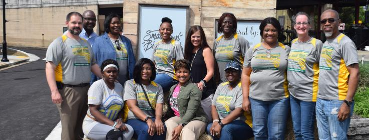 McComb School District participates in community cleanup 2019.