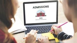admissions for school websites