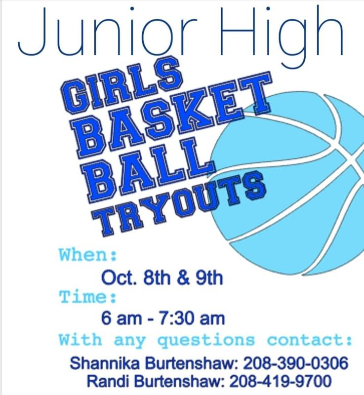 JH Bball Tryouts