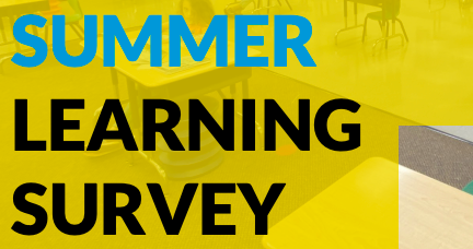 SUMMER LEARNING SURVEY Featured Photo