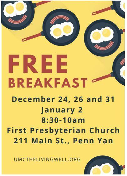 free breakfast flyer