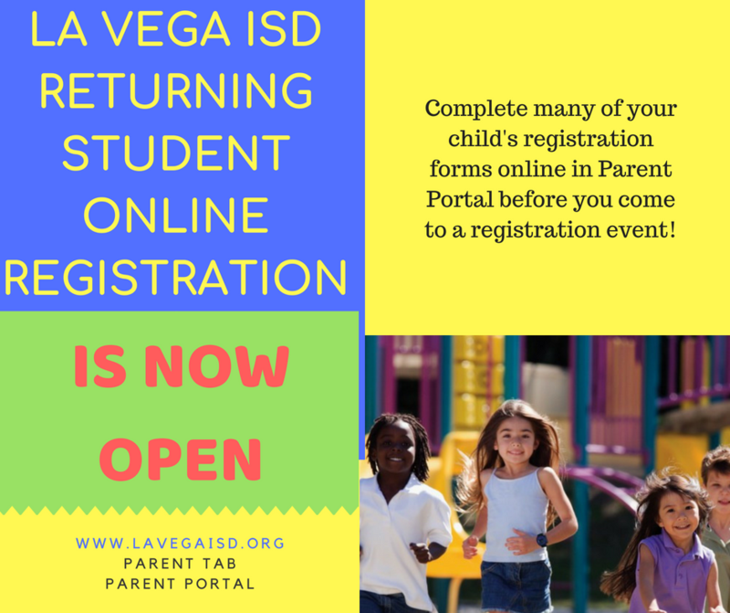 Online Student Registration is Now Open! Thumbnail Image
