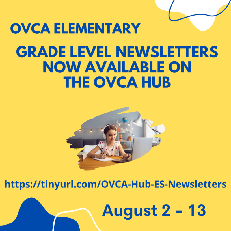 Elementary Grade Level Newsletters Now Available for August 2-13 Featured Photo