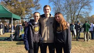 QV cross country runners