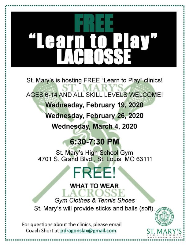 FREE Learn to Play Lacrosse Classes