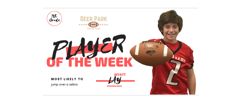 DPJH Player of the week