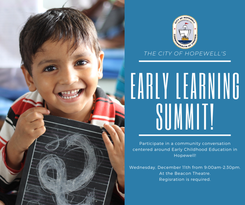 early learning summit flyer