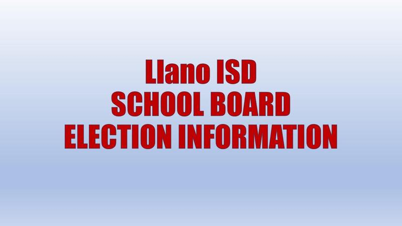 LISD School Board Election Info
