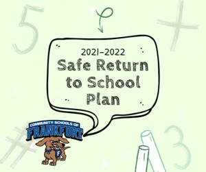 Safe Return to School Plan 2021-2022
