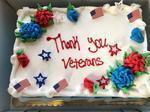 thank you veterans cake