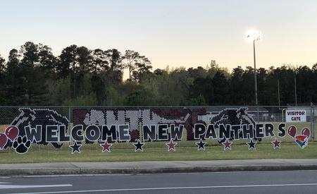 welcome new panthers
