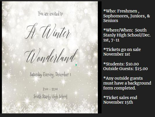 Get Your Tickets to the Winter Wonderland Dance! Featured Photo