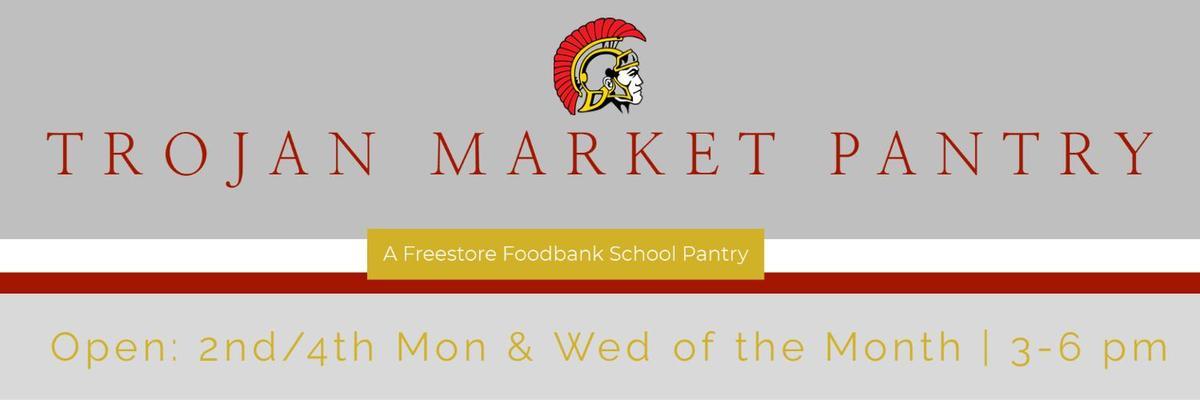 Trojan Market Pantry Logo