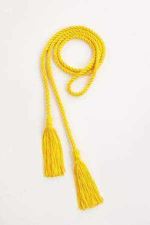 Picture of yellow honor cord