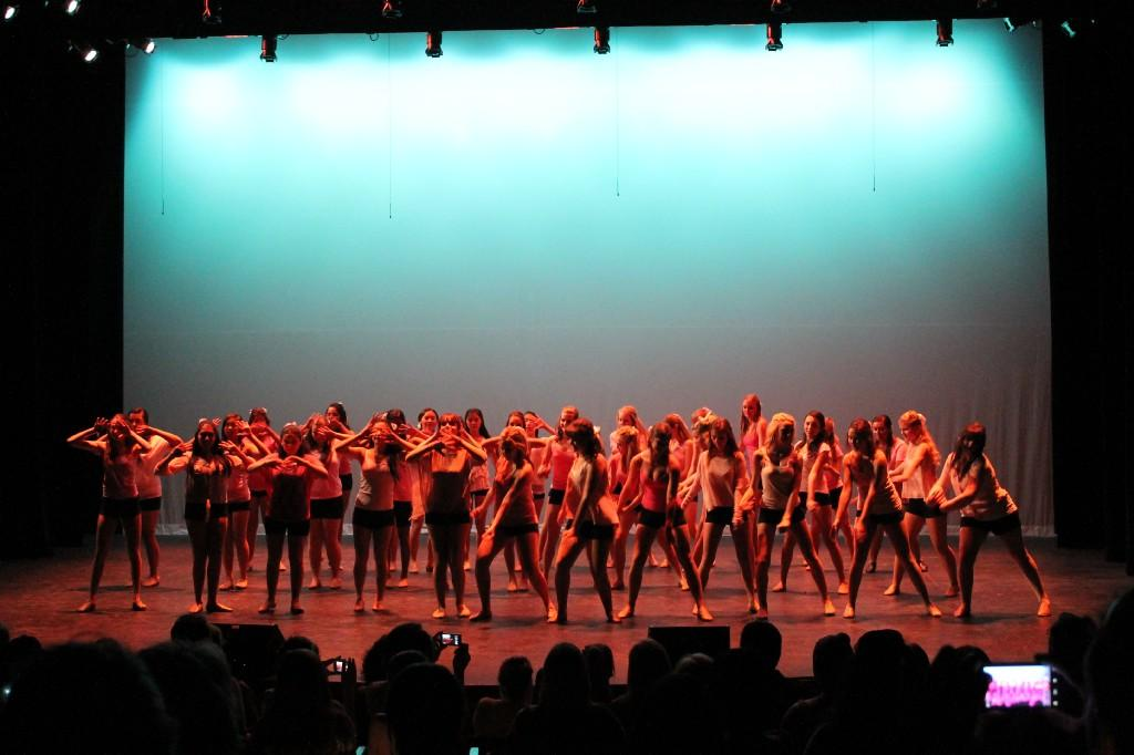 Dance team theater performance 2012