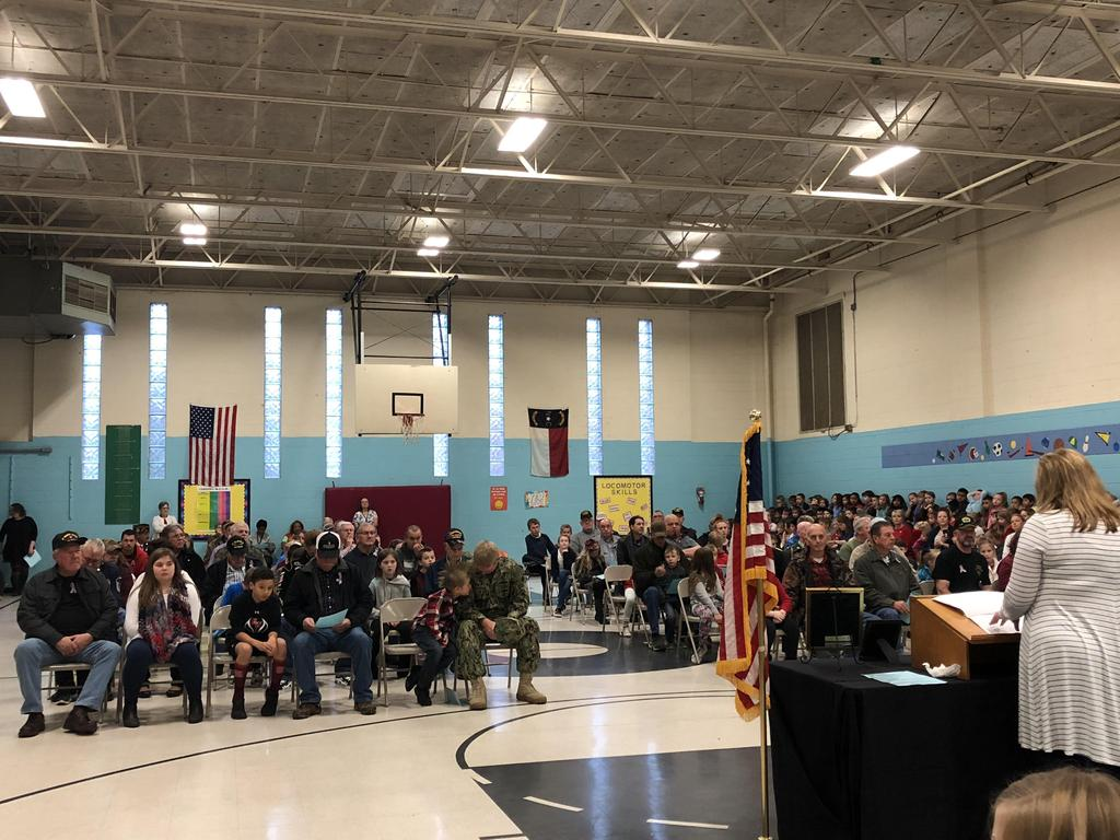 Veterans honored at RCES Veterans Day assembly