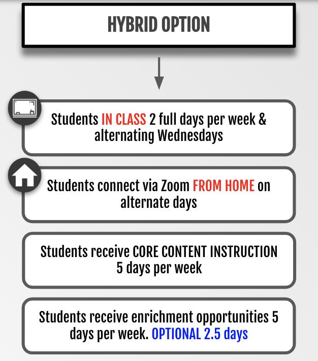Hybrid Learning Infograph