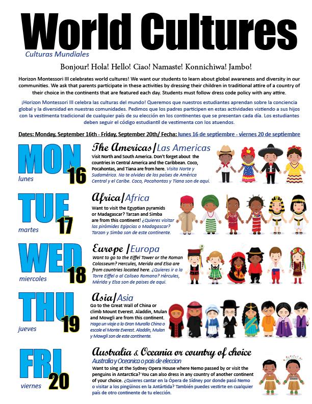 World Culture Week