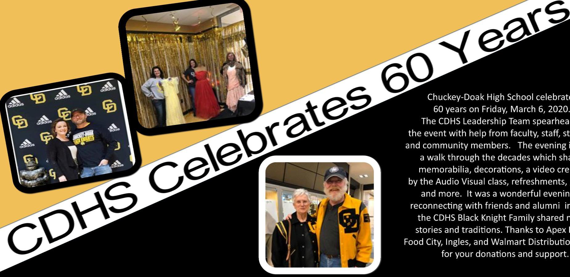 CDHS Celebrates 60 Years