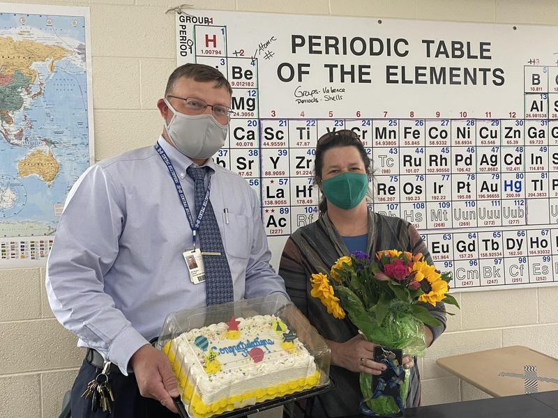 Thompson Named Teacher of the Year Featured Photo