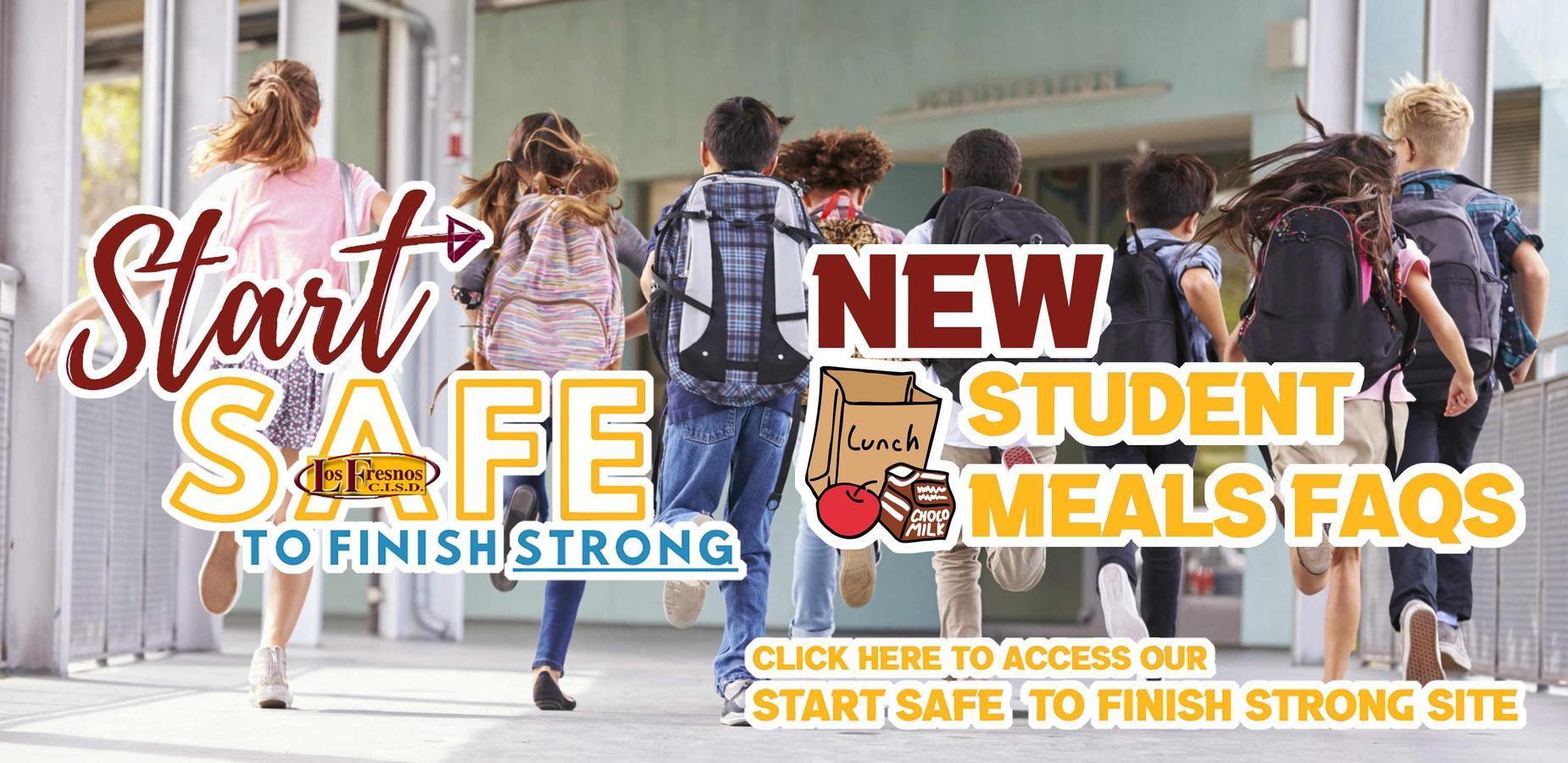 New Start Safe Banner