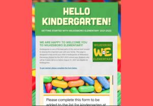 Kindergarten Screening Information