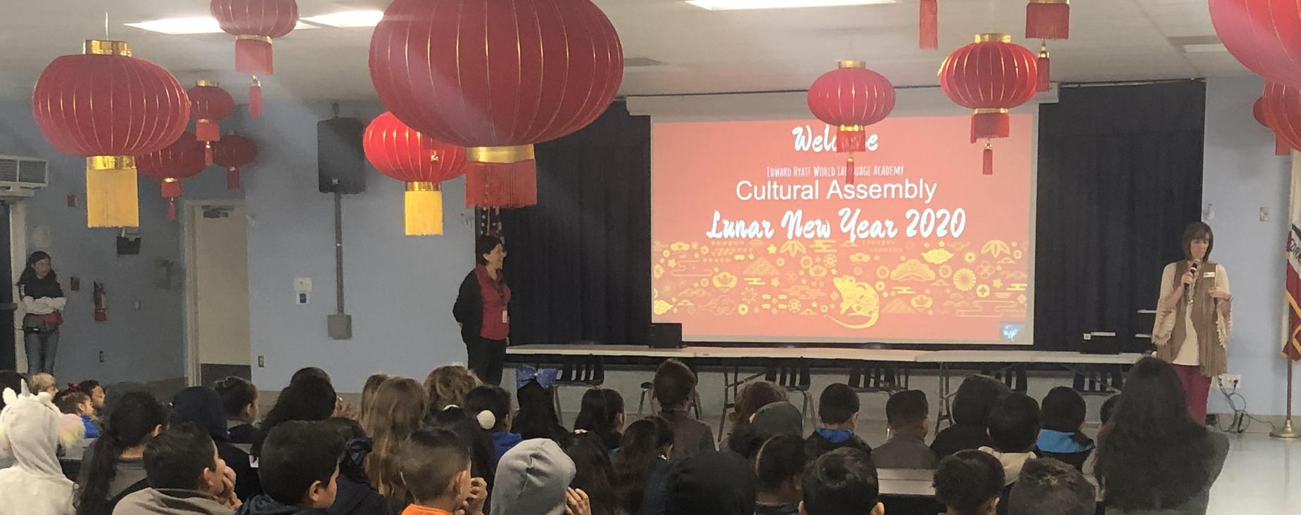 Chinese Cultural Celebration Assembly