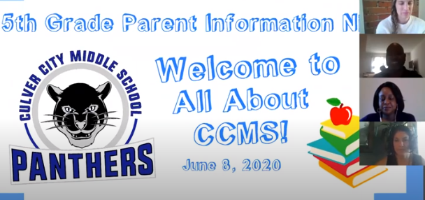 5th Grade Parent Night - Video and Resources Thumbnail Image