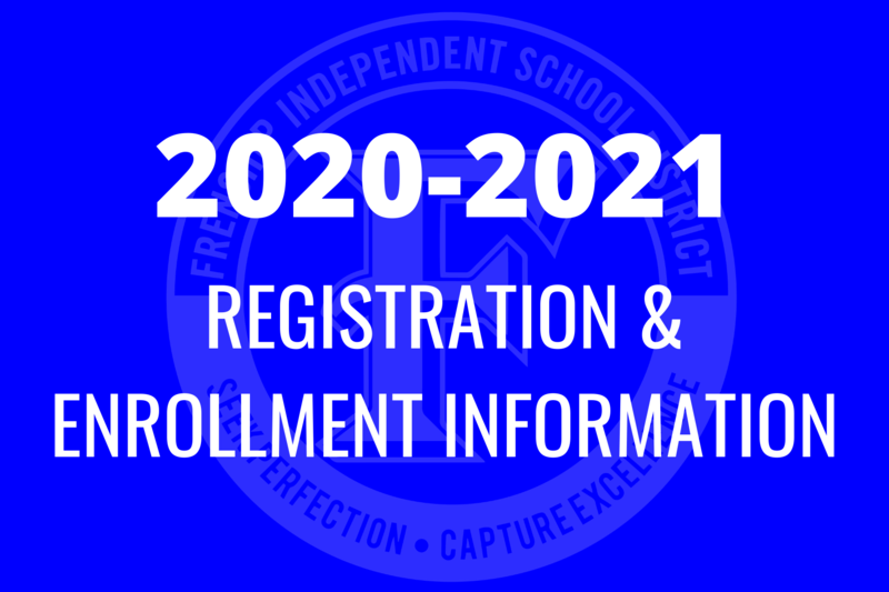 2020-2021 registration and enrollment information