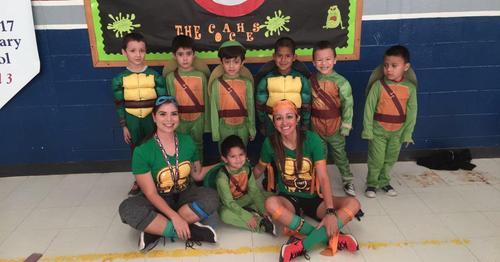 Ninja Turtle Family