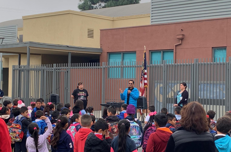 Mr. Figueroa Giving Speech