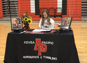 CHS Lily Richardson signing day