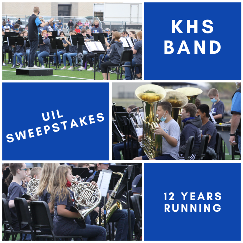 KHS Band Receives UIL Sweepstakes Featured Photo