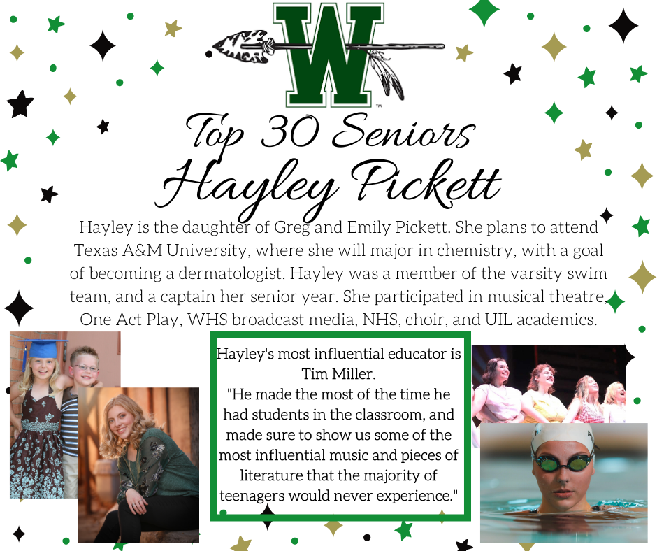 graphic of hayley pickett